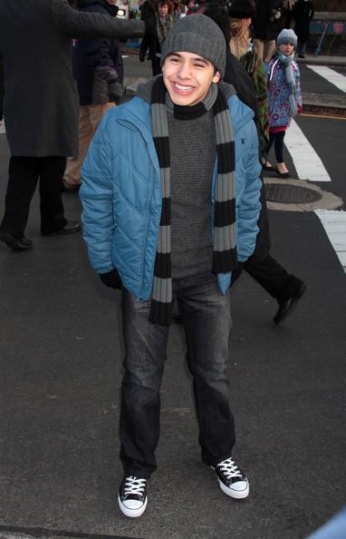David Archuleta at Macy's Thanksiving Day Parade - 2008