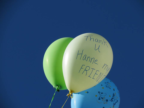 - Balloons for Hanne - Louise B.P.