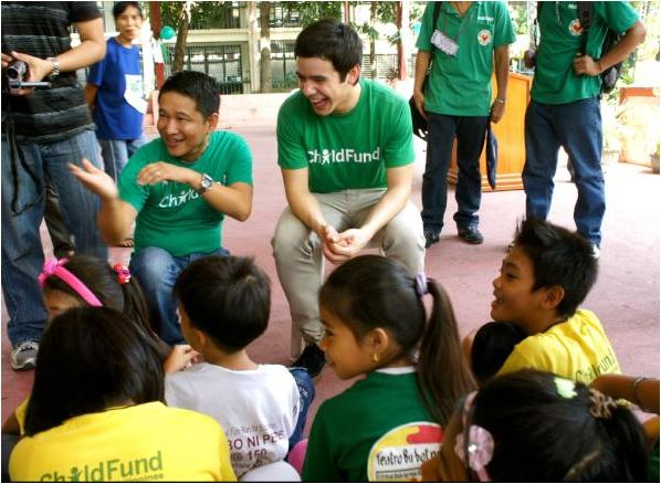 ChildFund David in Philippines cred Kari