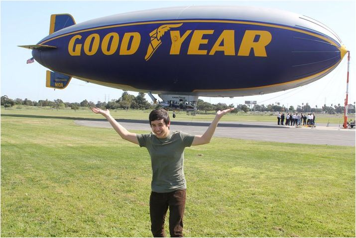 David Archuleta -Blimp-Goodyear-2011
