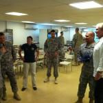 dan speaks group military