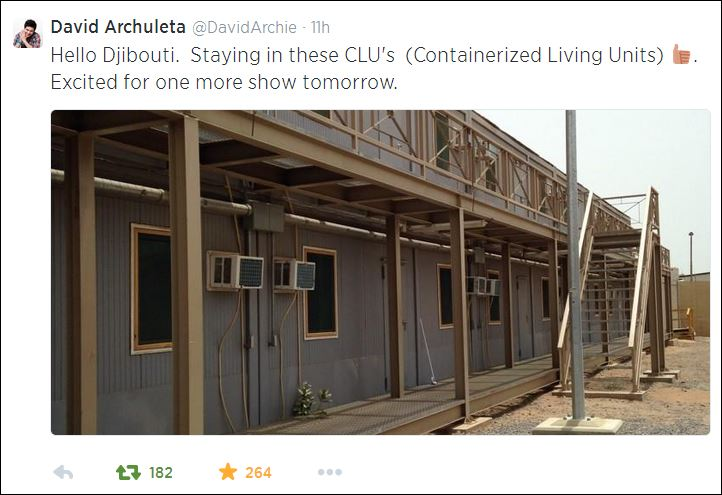 tweet David containerized living units