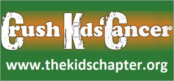 Crush kids cancer banner