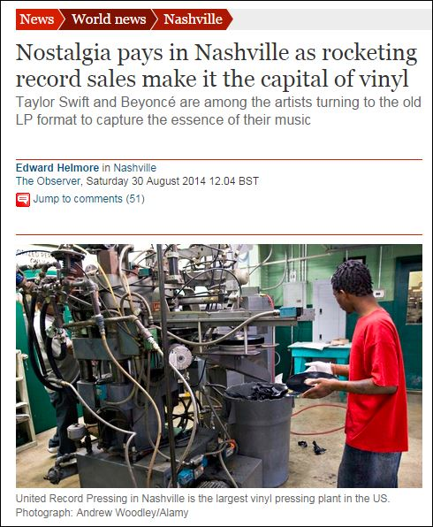 nashville vinyl