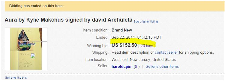 bidding ends