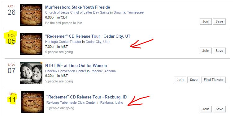 release tour
