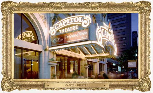 Capitol Theater 2 marquee