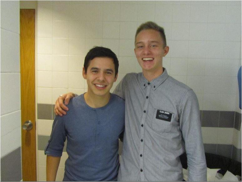 David and Elder JEnsen