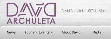 DavidArchuleta.com banner