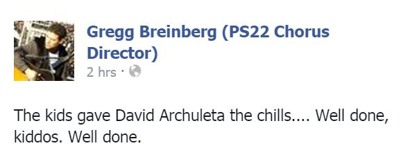 Gregg Breinberg responds to David's tweet
