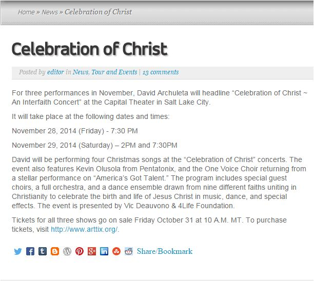 OS celebration of Christ 1