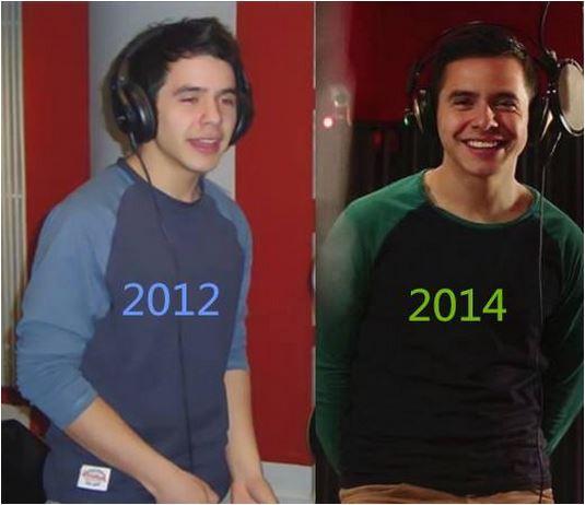 Recording then and now comparison collage credit  Àrchuleta