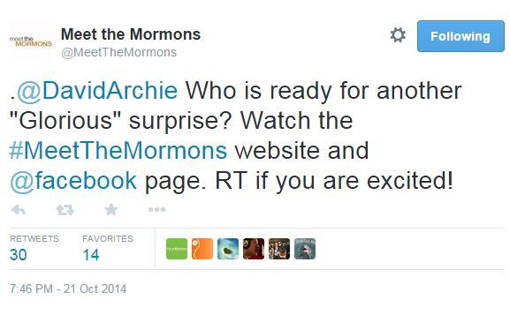 Tweet MTM Glorious Surprise coming