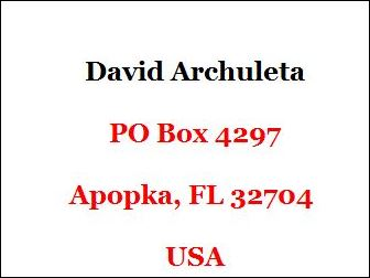 david's po address