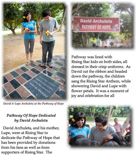 pathway of hope David visits