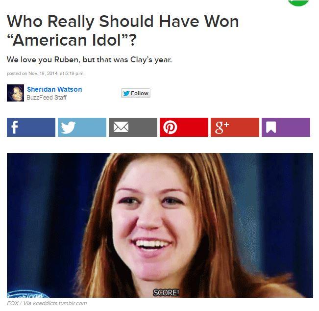Buzz feed poll