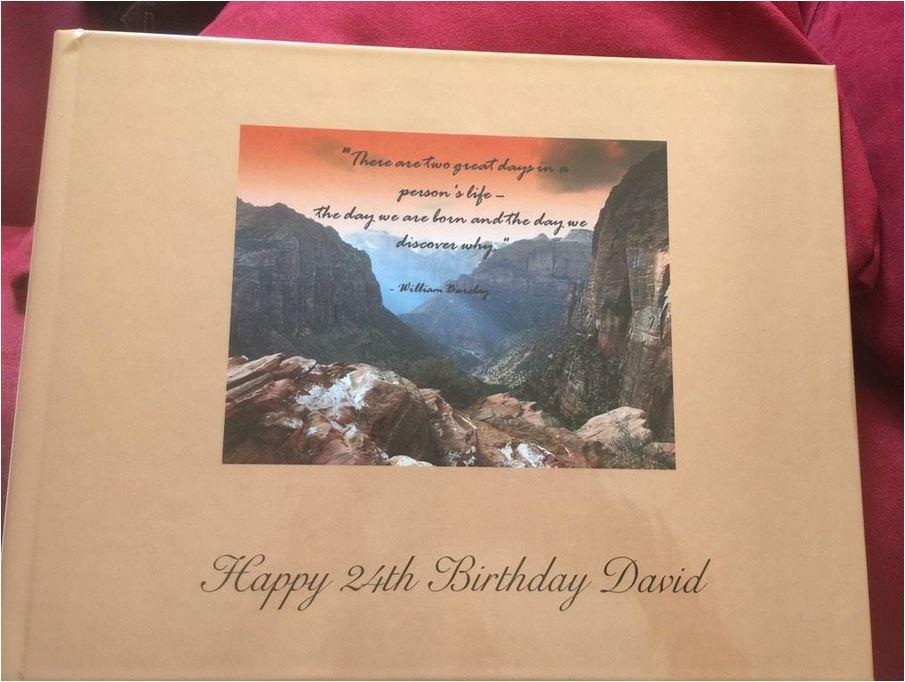 Birthday Book 12/28/2014 credit Shelley