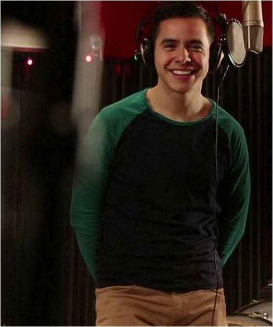"""David in studio 2014  """"Glorious"""""""