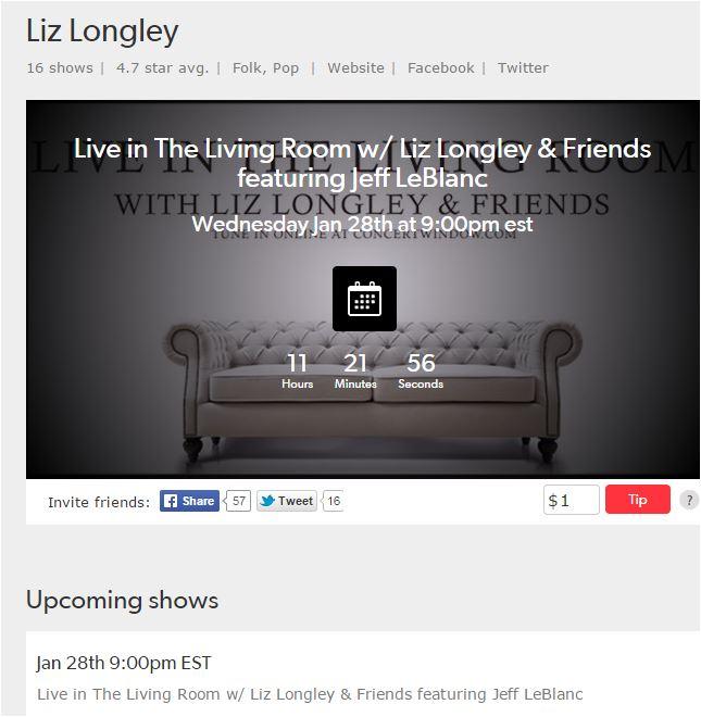 Liz Lonley show