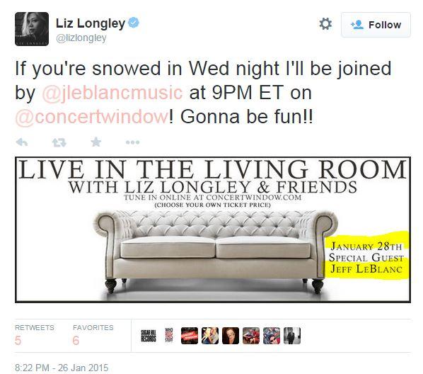 liz lonley concert
