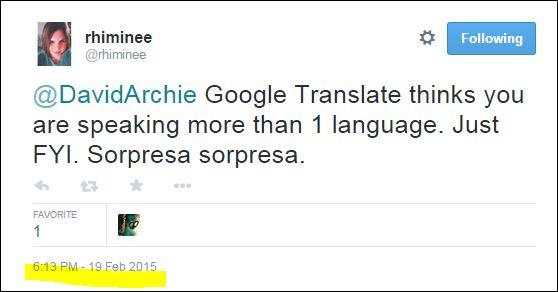 rhiminee many languages twitter david