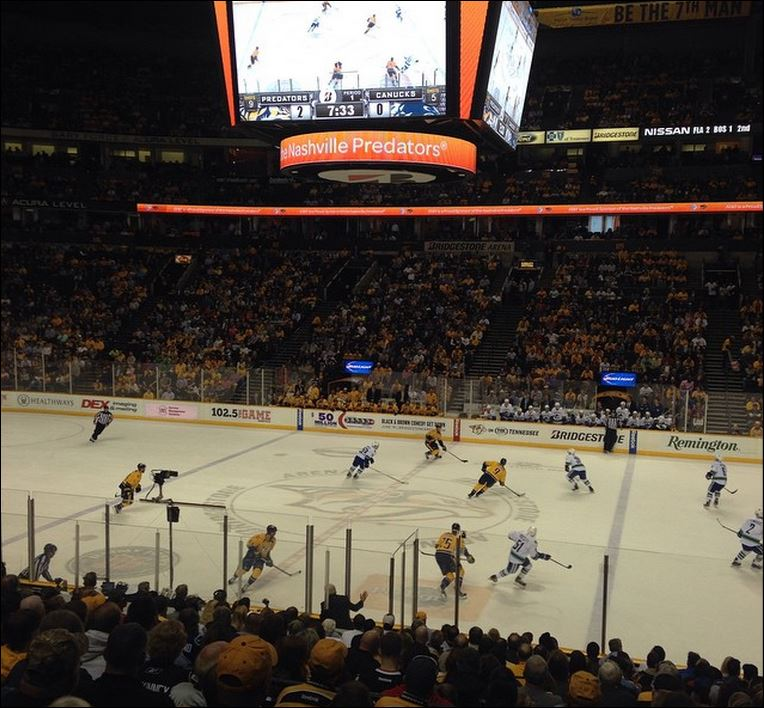 Nashville predators game march 31 2015