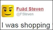 fuad I was shopping