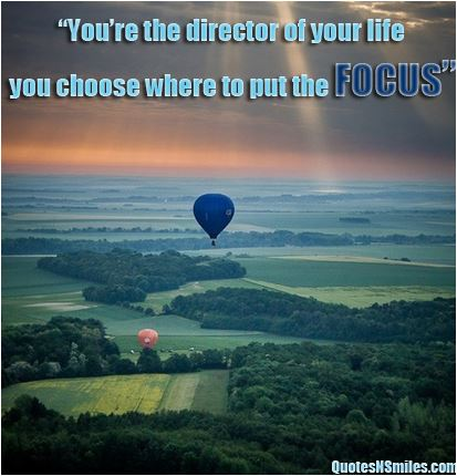 quote You're the director of your life