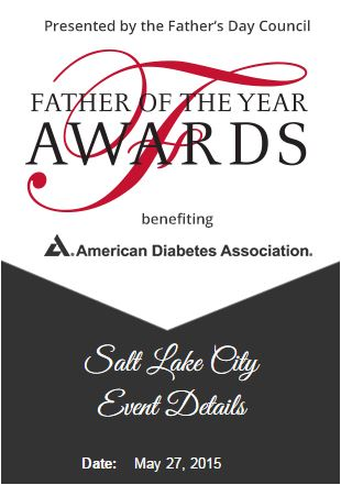 Amer Diabetes Assoc Father Of The Year Awards