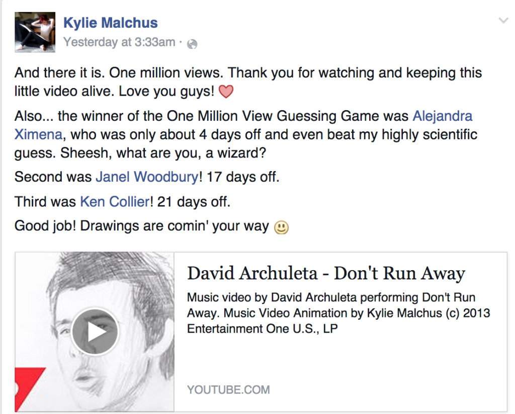 - click to visit Kylie's FB page