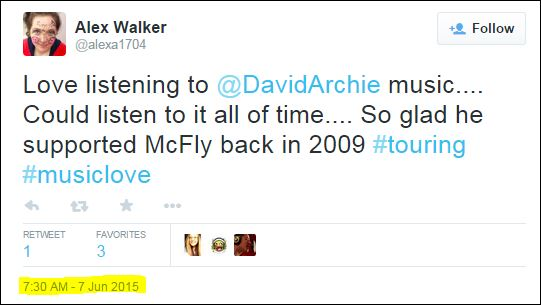 alex walker tweet