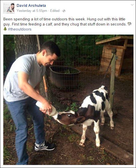 david outdoors calf
