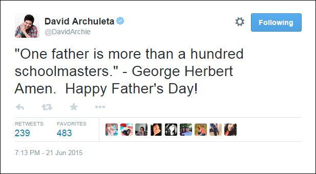 happy fathers day schoolmaster tweet