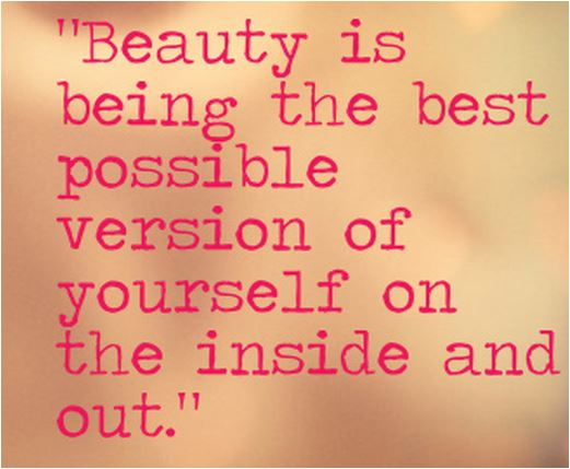 quote beauty is being the best possible version of yourself 2