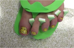 Shay Carl's Happy Toes ready for a DA September show