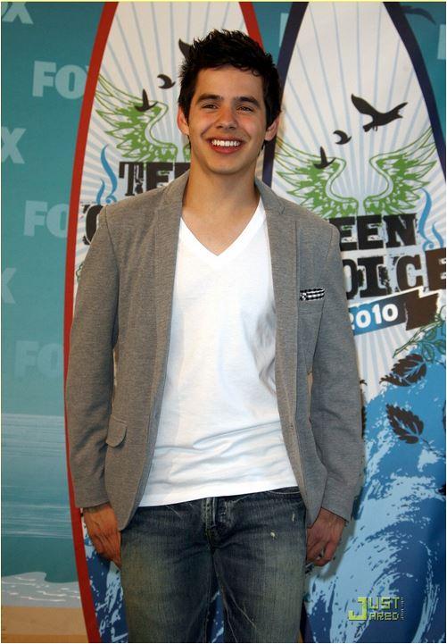 David teen choice surfboards 2010