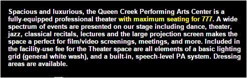 Queen Creek PAC info