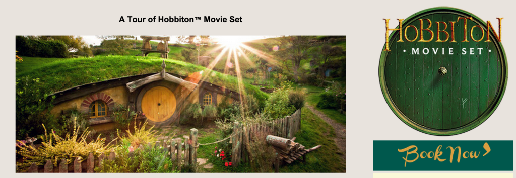 - click to visit the Hobbiton site