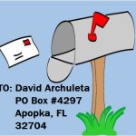 mail  and address mailbox