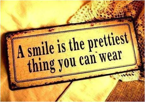 quote a smile is the prettiest thing