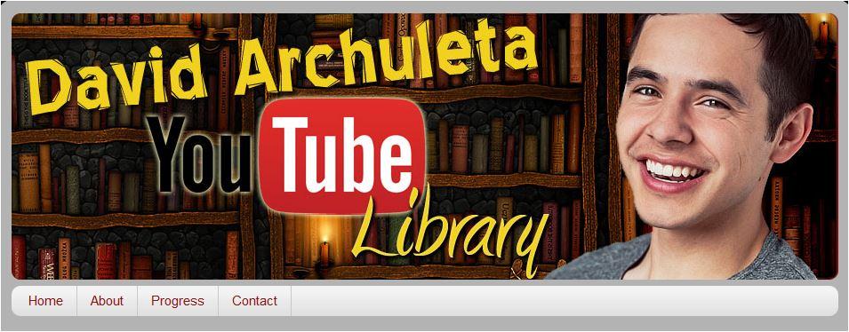 David Archuleta You Tube Library