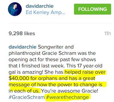 david IG re Gracie