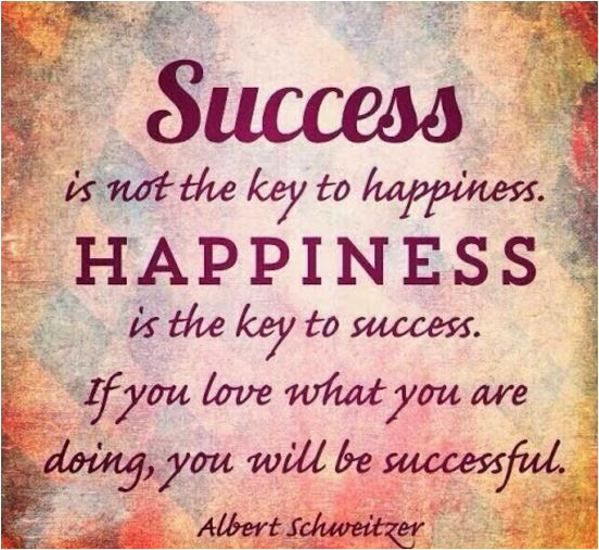 quote success is not the key