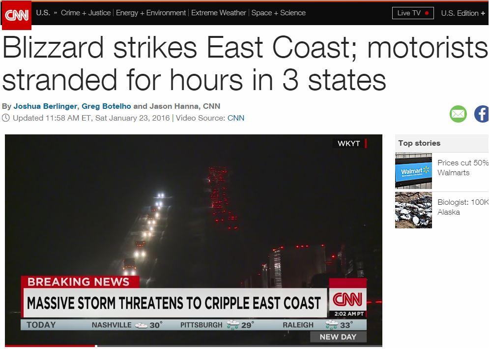 CNN Winter snowstorm 2016