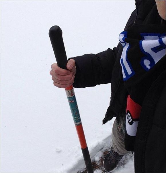 David snow shovel