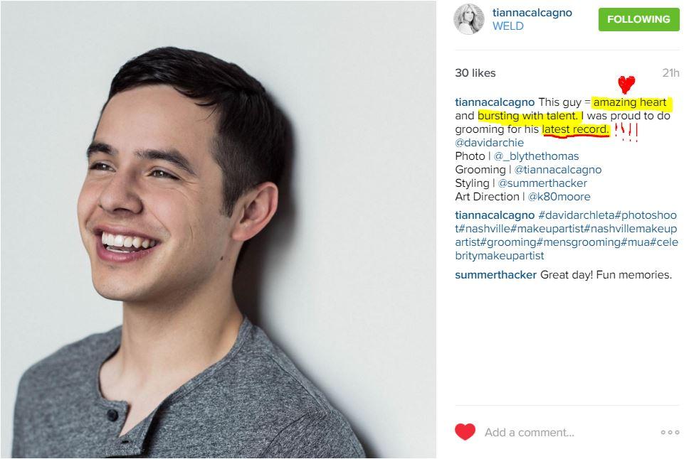 Instagram tianna calcagno groomer