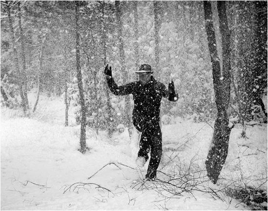 snow dancing singing