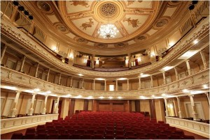 Slovenia Opera house inside