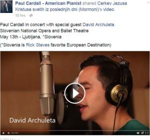 Slovenia concert  facebook dan cardall