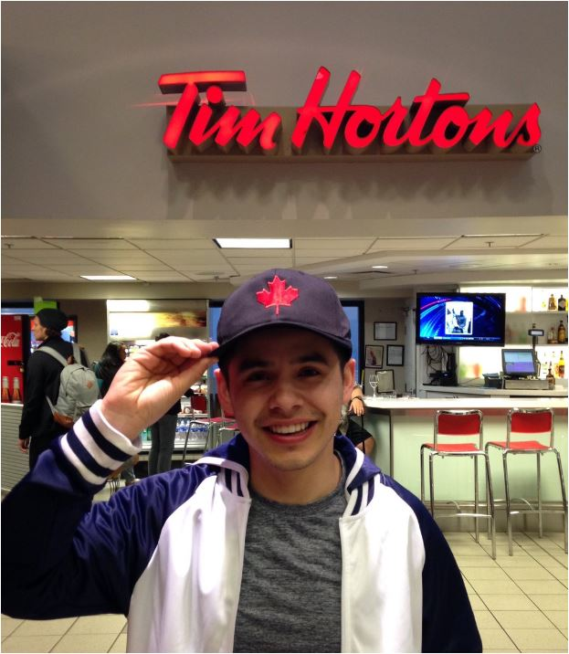 David Canada hat Tim Horton's
